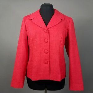 Lightweight Raspberry Red Blazer